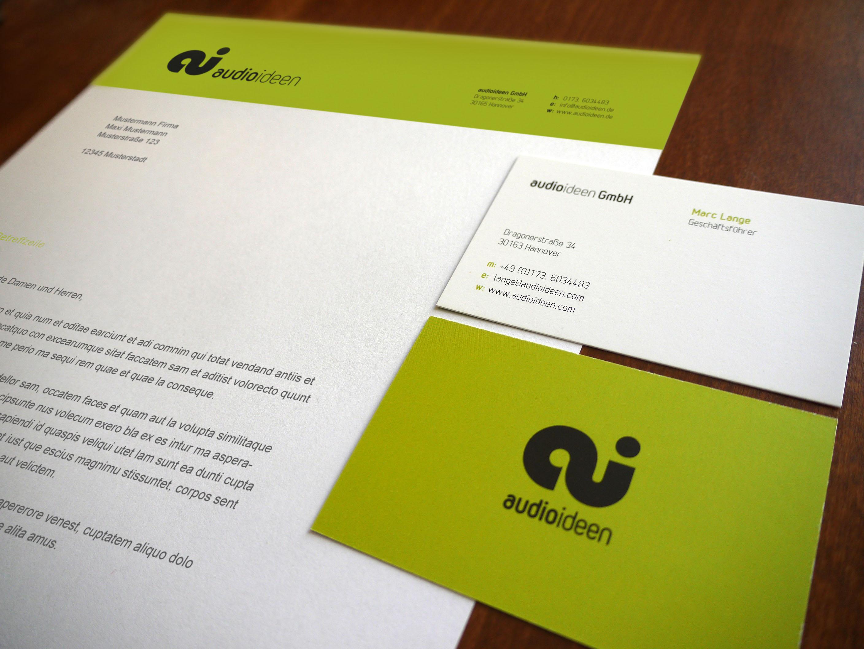 audioideen | Logoentwicklung