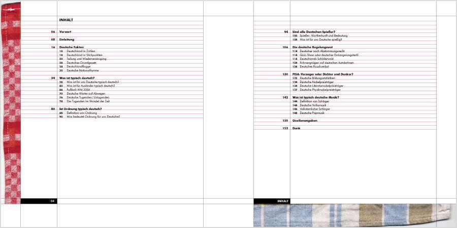 0815 Typisch Deutsch | Buchgestaltung