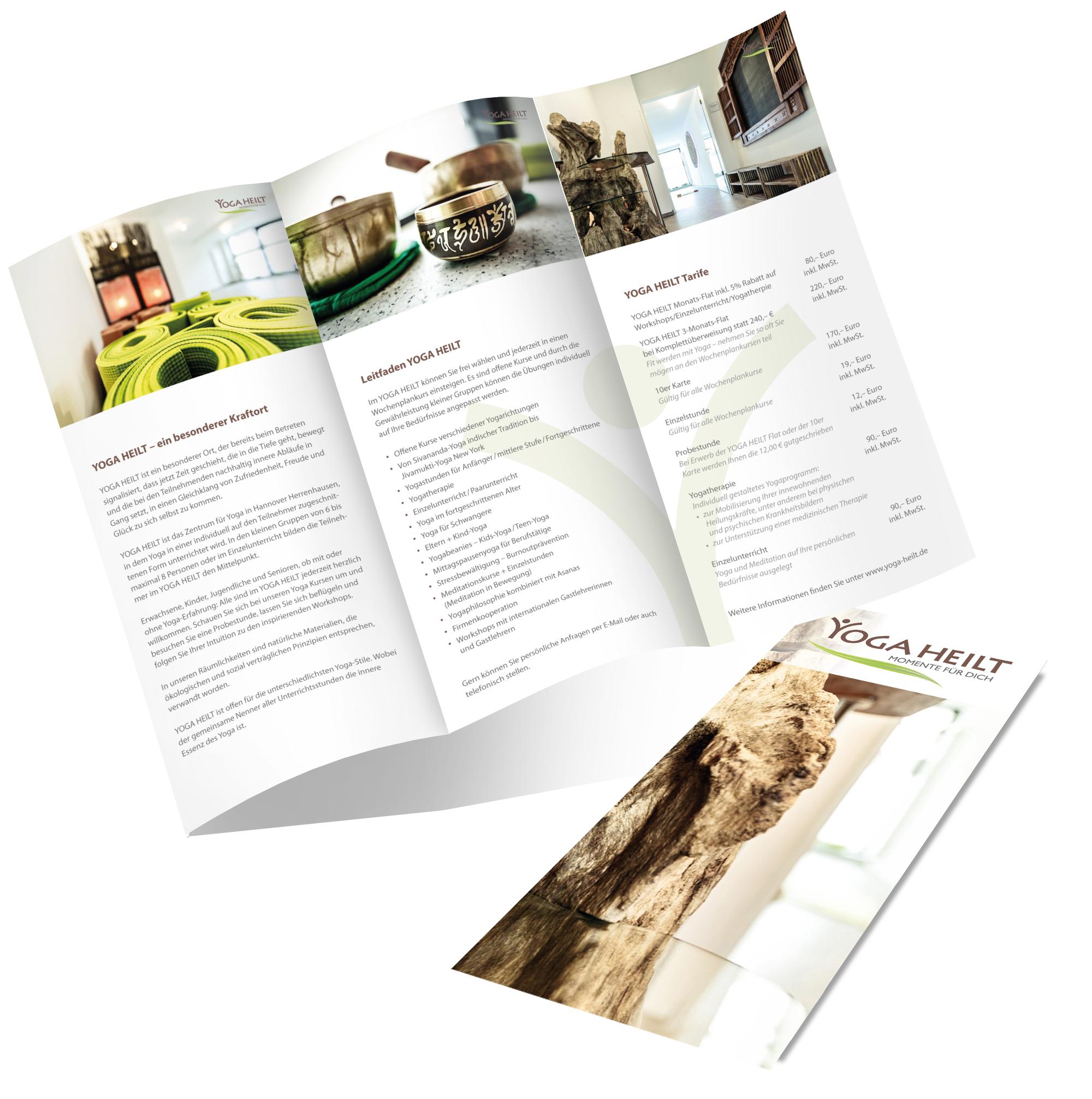 YOGA HEILT | Corporate Design