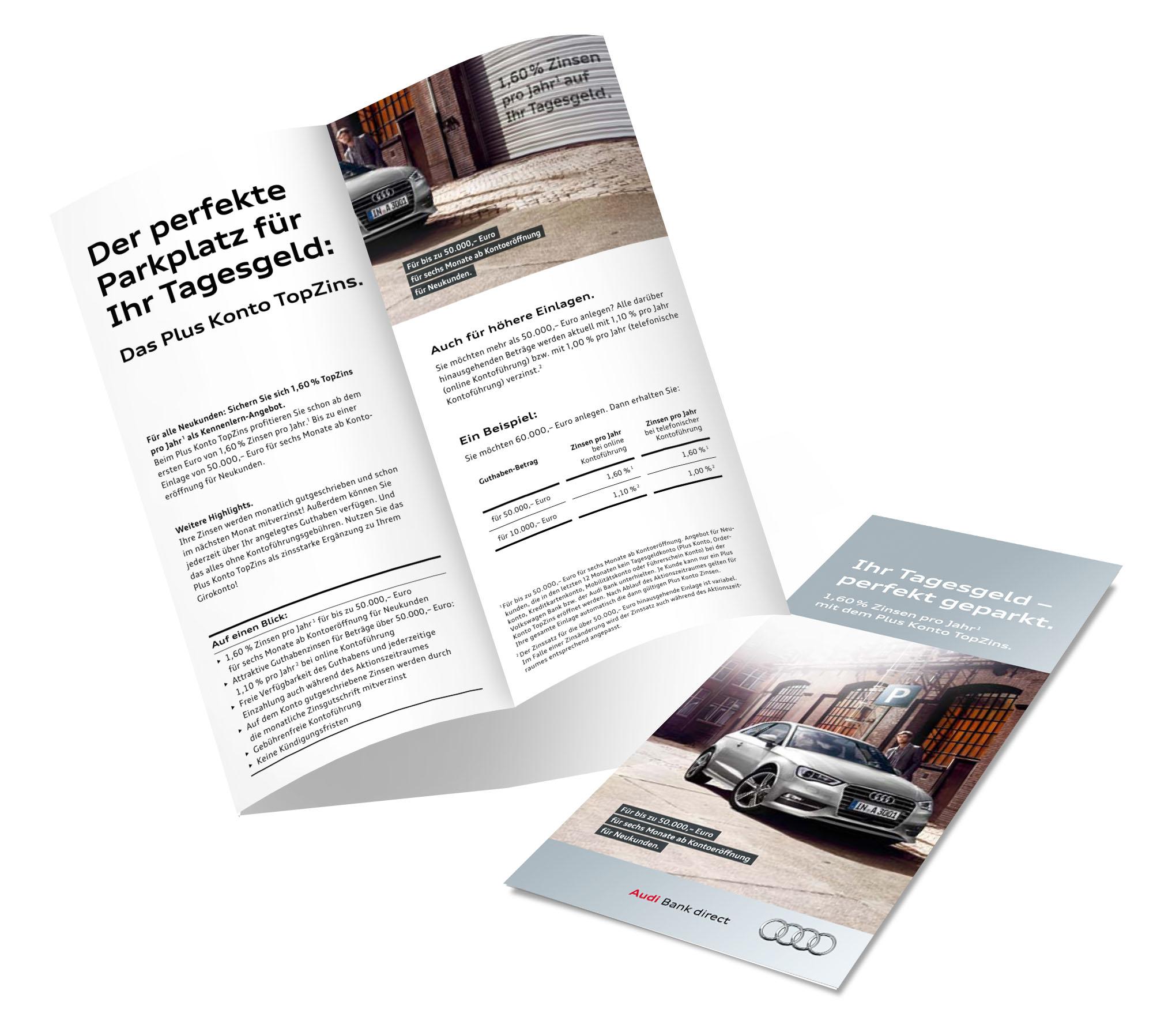 Flyer | Audi, VW & SKODA Bank